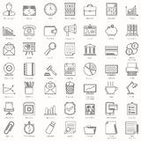 Business and Office Icons Stock Image