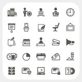Business and Office icons set. EPS10, Don't use transparency Stock Photo