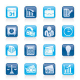Business and office icons Royalty Free Stock Photo