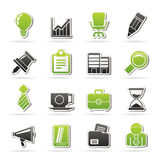 Business and office icons Royalty Free Stock Image