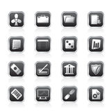 Business and Office Icons. Vector Icon Set 2 Royalty Free Stock Photography