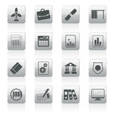 Business and Office Icons. Vector Icon Set 2 Stock Photos
