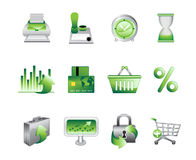 Business Office Internet Icons #2 Stock Photo