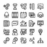 Business and Office Line Vector Icons 11. Here is a useful and trendy Business and Finance Vector Icons pack. Hope you can find a great use for them in finance Royalty Free Stock Photos