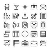 Business and Office Line Vector Icons 18. Here is a useful and trendy Business and Finance Vector Icons pack. Hope you can find a great use for them in finance Royalty Free Stock Photos