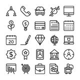 Business and Office Line Vector Icons 10. Here is a useful and trendy Business and Finance Vector Icons pack. Hope you can find a great use for them in finance Royalty Free Stock Photos