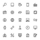 Business and Office Line Vector Icons 2. Here is a useful and trendy Business and Finance Vector Icons pack. Hope you can find a great use for them in finance Royalty Free Stock Photography