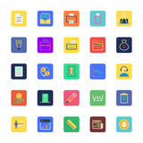 Business, Office and Marketing Colored Vector Icons 1 Stock Photography