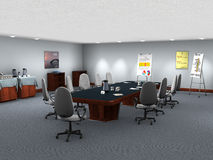 Business Office Meeting Room Illustration Royalty Free Stock Photo