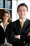 Business office partners Stock Image