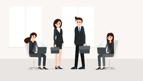 business office people απεικόνιση αποθεμάτων