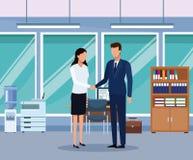 business office people ελεύθερη απεικόνιση δικαιώματος