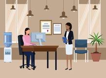 business office people διανυσματική απεικόνιση