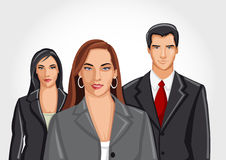 Business and office people Stock Photography