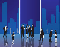 Business office people  Illustration Royalty Free Stock Images
