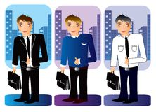 Business office people  Illustration Royalty Free Stock Photography