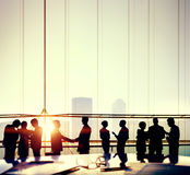 Business Office People Working Meeting Discussion Concept Royalty Free Stock Photography