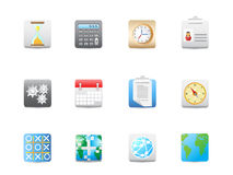 Business and office square icon Stock Image