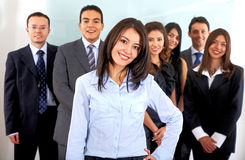 Business office team Royalty Free Stock Photography