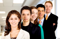 Business Office Team Work Stock Images