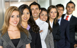 Business Office Team Work Stock Photography