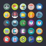 Business, Office, Team work, Management, Growth, Finance Vector Icons 6 Stock Image