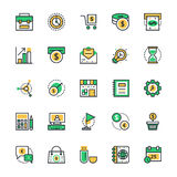 Business & Office Vector Icons 1 Royalty Free Stock Images