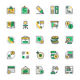 Business & Office Vector Icons 2 Royalty Free Stock Photo