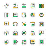 Business & Office Vector Icons 4 Stock Images