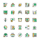 Business & Office Vector Icons 3 Stock Photo