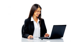 Business office woman Royalty Free Stock Photography