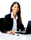 Business office woman Stock Photo