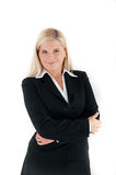 Business office woman in a suit Stock Photos