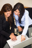 Business office women Royalty Free Stock Photos