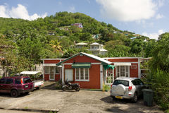 Business offices in the caribbean Stock Photos