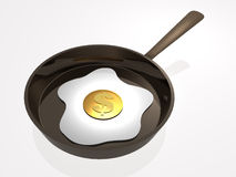 Business omelet Royalty Free Stock Photo