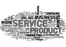 A Business In One Sentence Word Cloud Royalty Free Stock Images