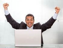 Business online success Royalty Free Stock Photos