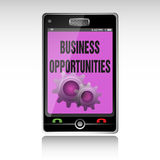 Business opportunities Stock Image