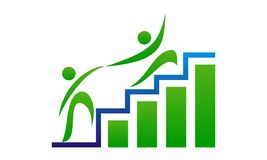 Business Optimize Logo Design Template Royalty Free Stock Photos