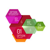 Business option diagram templates Stock Image