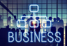 Business Organization Chart Company Concept Stock Photography
