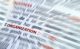Business organization Royalty Free Stock Images