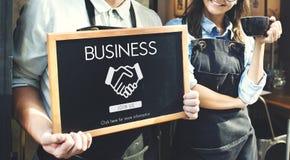 Business Organization Handshake Graphics Concept Stock Photography