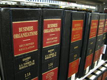 Business Organization Law Stock Photography