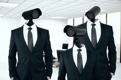 Business/organization security management royalty free stock photo