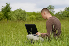 Business in outdoor Stock Image