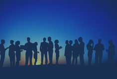 Business Outdoor Team Teamwork Collaboration Support Concept Royalty Free Stock Image