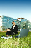 Business Outdoors royalty free stock photos