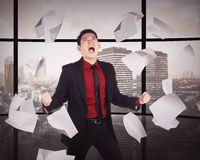 Business Overtime Conceptual Royalty Free Stock Photos